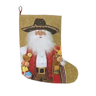 Texan do sudoeste mexicano latino-americano Papai Meia De Natal Grande