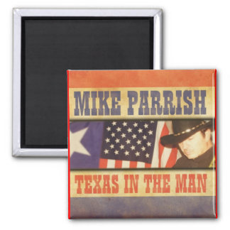 Texas no ímã do homem ímã quadrado