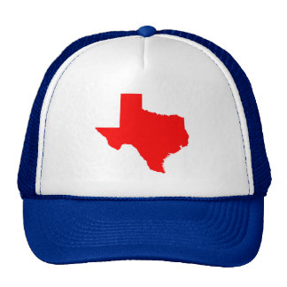 Texas vermelho boné