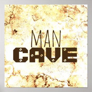 texto corajoso do poster das citações da caverna