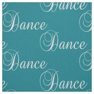 Texto da dança em algum tecido da cor