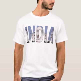Texto de INDIA sobre Taj Mahal Camiseta