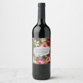 TEXTO do EDIT da etiqueta do vinho de rosas do