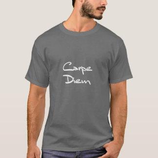 Texto legal moderno de CARPE DIEM Camiseta