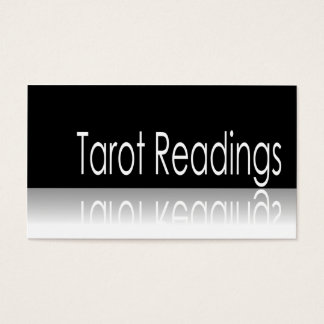 Texto reflexivo - leituras de Tarot - cartão de