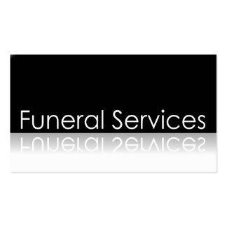 Texto reflexivo - serviços fúnebres - cartão de vi modelos cartoes de visita