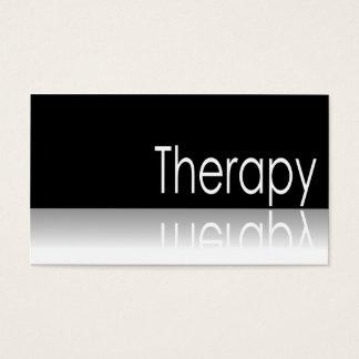 Texto reflexivo - terapia - cartão de visita