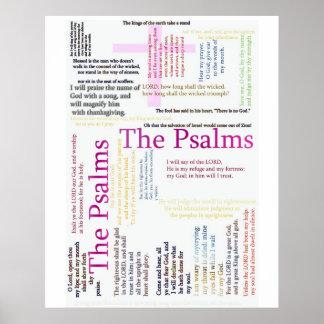 Texto relacionado   da bíblia dos salmos poster