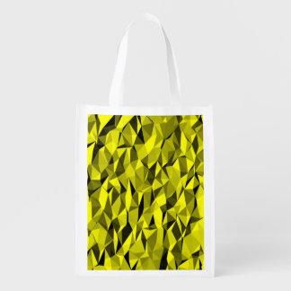 textura amarela sacola ecológica