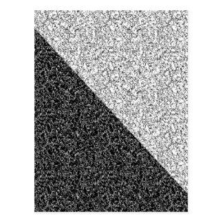 Textura cinzenta cartão postal