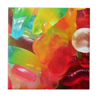 textura colorida da goma da geléia