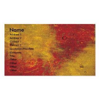 Textura colorida do Grunge Cartão De Visita