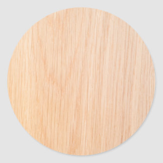 Textura da madeira do carvalho adesivo em formato redondo