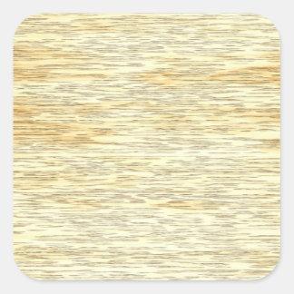 Textura da madeira do carvalho ou de pinho adesivos quadrados