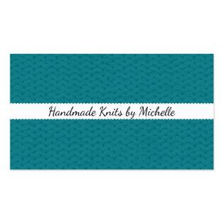 Textura da malha • Artesanatos Handmade Cartão De Visita