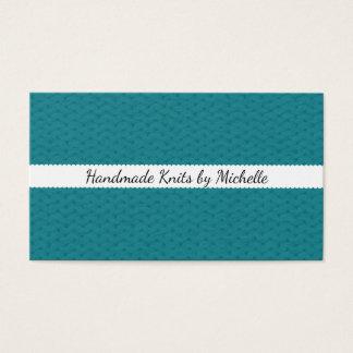 Textura da malha • Artesanatos Handmade Cartão De Visitas