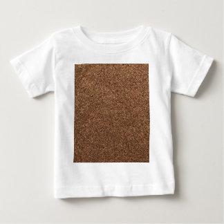 textura da pimenta preta camiseta para bebê