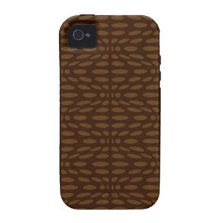 Textura de Brown Capinhas Para iPhone 4/4S