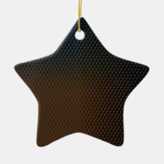 Textura de Brown Ornamento De Cerâmica