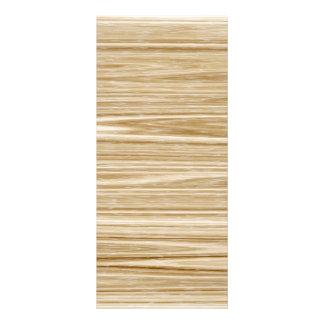 textura de madeira 10.16 x 22.86cm panfleto