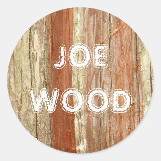 Textura de madeira adesivo