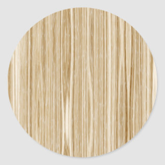 textura de madeira adesivos em formato redondos