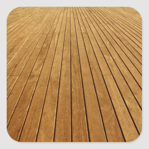 Textura de madeira adesivos quadrados