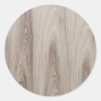 Textura de madeira clara adesivo