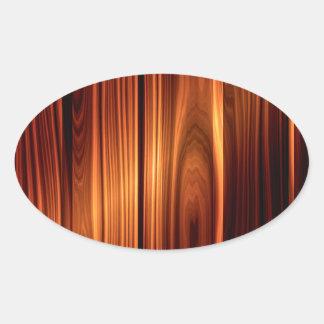 textura de madeira colorida madeira envernizada adesivo oval