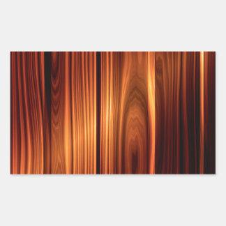 textura de madeira colorida madeira envernizada adesivo retangular