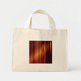 textura de madeira colorida madeira envernizada bolsa tote mini