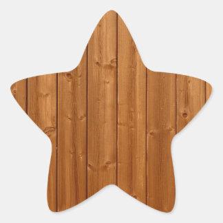 Textura de madeira da parede adesito estrela