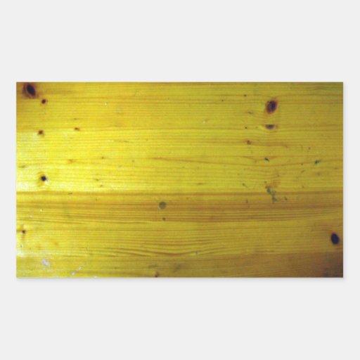 Textura de madeira de superfície do design de inte adesivos retangulares