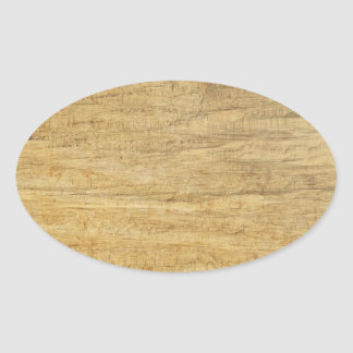 Textura de madeira do painel adesivos em formato ovais