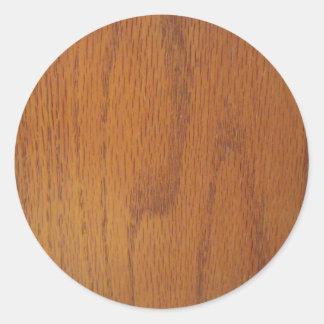 Textura de madeira morna da grão adesivo