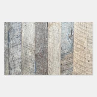 Textura de madeira resistida do fundo da prancha adesivo retangular