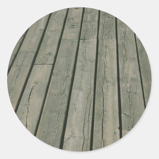 Textura de madeira, teste padrão de madeira, adesivos redondos