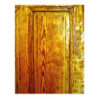 Textura de madeira vermelha do design de interiore panfleto