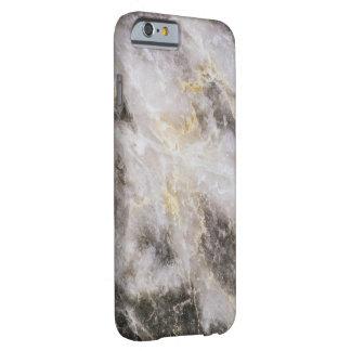 Textura de mármore real capa barely there para iPhone 6