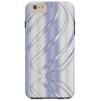 textura dinâmica metálica abstrata capa tough para iPhone 6 plus