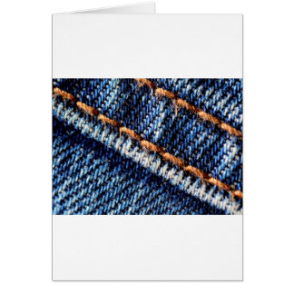 Textura do close up de calças de ganga cartão comemorativo