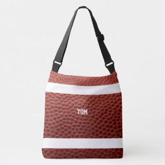 Textura do futebol personalizada bolsa ajustável
