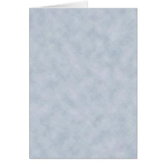 Textura do olhar do pergaminho das cinzas azuis do cartão comemorativo
