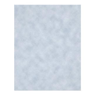 Textura do olhar do pergaminho das cinzas azuis do flyer 21.59 x 27.94cm