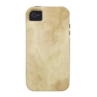 Textura dourada TPD de Brown Capinhas Para iPhone 4/4S