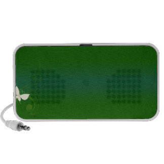Textura esverdeado bonita caixinha de som para notebook