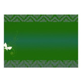 Textura esverdeado bonita convite