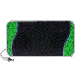 Textura esverdeado clara deliciosa caixinha de som para mini