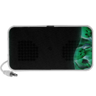 Textura esverdeado moderna caixinha de som para mini