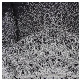 Textura gráfica tecido